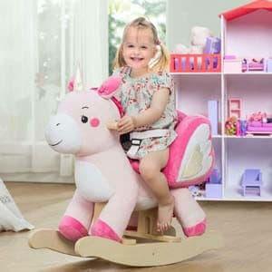 1. labebe - Baby Rocking Horse, Ride Unicorn, Kid Ride On Toy
