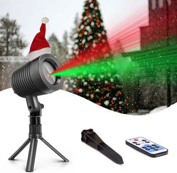 4. Christmas Laser Lights Landscape Projector Lights Outdoor Waterproof Laser Lamp