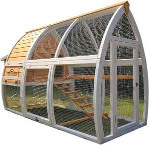 2. Pets Imperial Dorchester Chicken Coop Hen House Poultry Nest Box Ark Rabbit Hutch Run