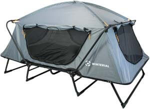 8. Winterial Double Outdoor Camping Tent Cot