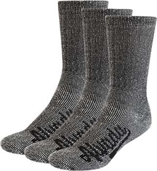 10. Alvada 80% Merino Wool Hiking Socks Thermal Warm Crew Winter Sock