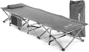 7. Alpcour Folding Camping Cot