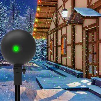 3. Christmas Lights Projector Laser Light Xmas Spotlight Projectors