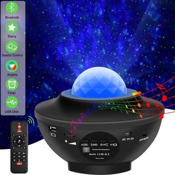 8. Vinkki Laser Star Projector Light LED Night Light Projector