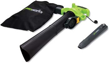 10. Greenworks 24072 12A 235MPH Variable Speed Corded Blower
