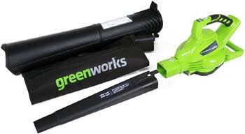 2. Greenworks 40V 185 MPH Variable Speed Cordless Leaf Blower
