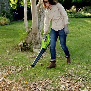 3. Greenworks 40V Electric Leaf Blower
