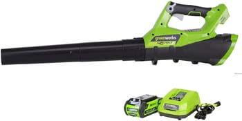 8. Greenworks 40V Cordless Jet Leaf Blower