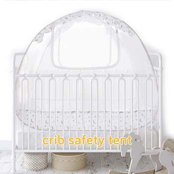 9. Baby Crib Canopy Safety Tent