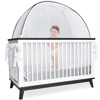 2. Pro Baby Safety Grey Canopy Cover -Safety Pop Up Tent