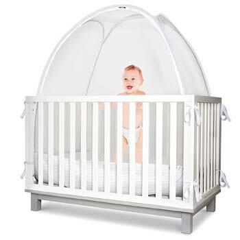 3. Baby Safety Crib Tent - Toddler Crib Topper