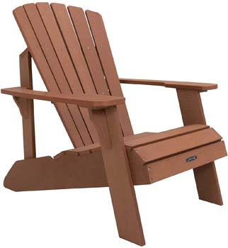 9. Lifetime Faux Wood Adirondack Chair