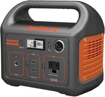 2. Jackery 240Wh Lithium Battery Portable Power Station Explorer 240