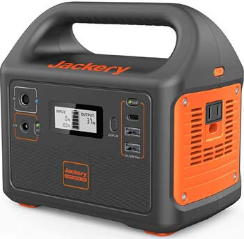 5. Jackery 167Wh Lithium Battery Portable Power Station Explorer 160