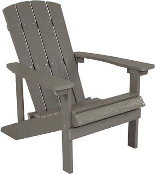 1. Flash Furniture Charlestown All-Weather Adirondack Chair