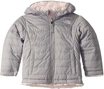 5. The North Face Toddler Girls' Reversible Mossbud Swirl Jacket