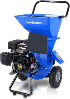 1. Landworks Wood Chipper Shredder Mulcher Super Heavy Duty 7 HP 212cc Gas Powered 3 in 1 Multi-Function 3