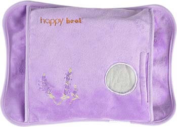 7. Happy Heat Heating Pad Hands, Electric Water Bag, Arthritis Hand Warmer, Auto-Shut Off- Lavender