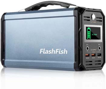 3. FF FlashFish 300W 60000mAh Portable Power Station