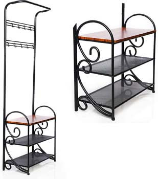 7. Premium Model Coat Rack Bench Easy to Assemble Coat and Shoe Rack with Impressive Strength