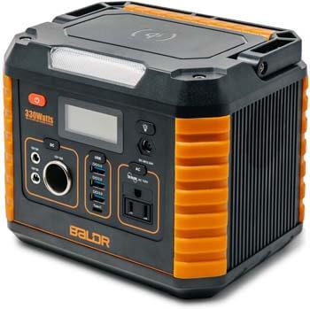 4. BALDR Portable Power Station 330W