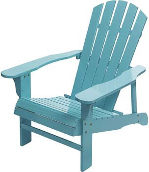 3. Leigh Country Classic Painted Acacia Wood Adirondack Chair